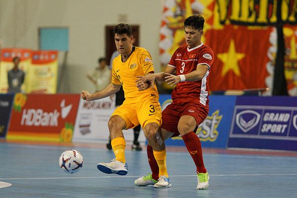 Việt Nam thắng Australia trong ngày khai màn giải Futsal Vô địch ĐNÁ 2019