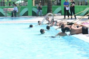 Một số trò chơi cho trẻ em thực hành các kỹ năng an toàn môi trường nước (Phần 4)