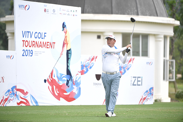 Golfer Hoàng Quân vô địch giải VITV Golf Tournament 2019