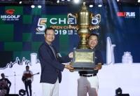 Golfer Đỗ Anh Đức lên ngôi ở giải golf Chervo Open Championship lần thứ 5 năm 2019