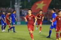 Hòa U22 Thái Lan 2-2, U22 Việt Nam giành vị trí nhất bảng