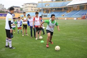 Chương trình Đá bóng và Chia sẻ cùng SCG thắp sáng ước mơ tài năng bóng đá trẻ