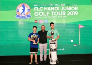 Nguyễn Đặng Minh vô địch hệ thống FLC Hanoi Junior Golf Tour 2019