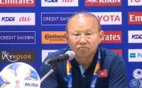 HLV Park Hang Seo nhận hết trách nhiệm sau thất bại của U23 Việt Nam