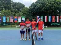 ĐT quần vợt nam trẻ Việt Nam thắng dễ ĐT Nepal