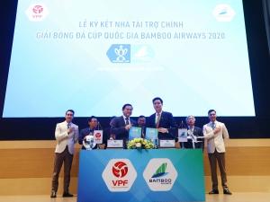 Bamboo Airways tiếp tục đồng hành cùng Giải Cúp QG 2020