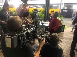 Gần 500 phóng viên tác nghiệp ở giải đua xe F1 tại Hà Nội