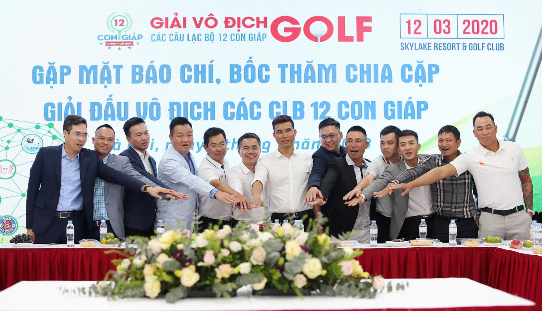 Chuẩn bị khởi tranh giải golf vô địch các CLB 12 con Giáp