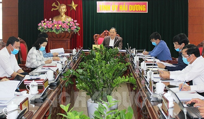 Công tác chuẩn bị Đại hội Đảng bộ các cấp ở thành phố Hải Dương