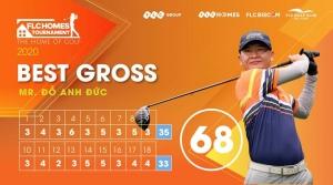 Đánh 68 gậy, golfer Đỗ Anh Đức tiếp tục lên ngôi tại FLCHomes Tournament 2020