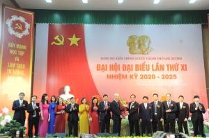 Đảng bộ khối Chính quyền thành phố Hải Dương tổ chức thành công Đại hội lần thứ 11 nhiệm kỳ 2020 - 2025