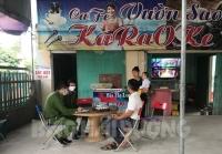 Huyện Thanh Hà các cơ sở kinh doanh giải trí ký cam kết dừng hoạt động
