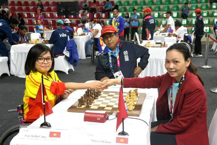 Việt Nam tham gia Giải Cờ vua online quốc tế cho người khuyết tật lần thứ I