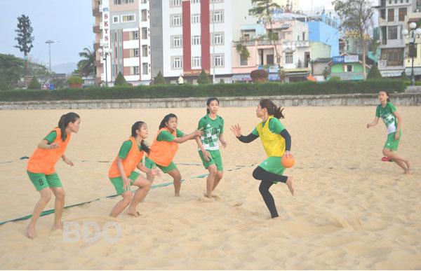 Phát triển các môn thể thao bãi biển tại Bình Định
