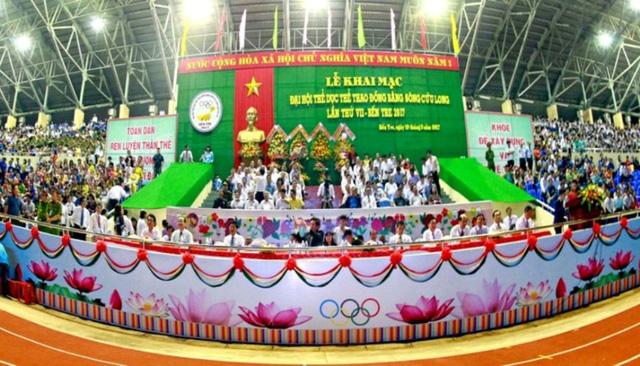 Đại hội thể thao đồng bằng sông Cửu Long khởi động vào tháng 7