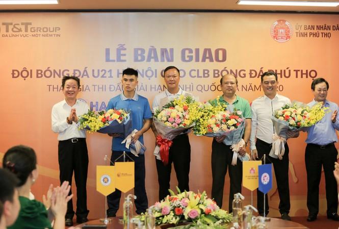 Hà Nội chuyển giao đội bóng U21 cho CLB Phú Thọ