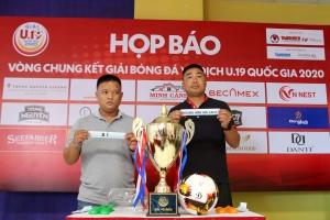 Khởi tranh VCK giải bóng đá U19 QG 2020