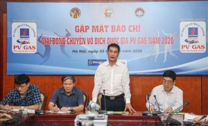 Chuẩn bị khởi tranh Giải bóng chuyền VĐQG PV GAS 2020