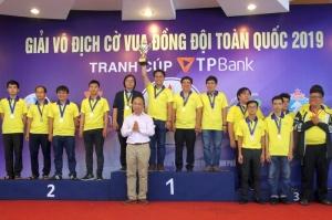 Chuẩn bị khởi tranh Giải cờ vua đồng đội toàn quốc tranh Cúp TPBank 2020