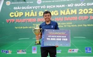 Lý Hoàng Nam vô địch Giải quần vợt VTF Masters 500-1 Hai Dang Cup 2020