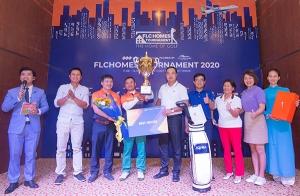 Đỗ Anh Đức bảo vệ thành công ngôi vô địch FLCHomes Tournament 2020