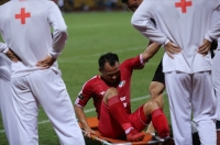 Hà Đức Chinh và Trọng Hoàng đã dính chấn thương nghiêm trọng