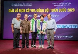 Giải cờ vua đồng đội (A2) Toàn quốc tranh cúp TPBank 2020: Tỏa sáng trí tuệ Việt
