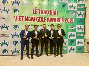 Chính thức Trao giải Vietnam Golf Awards 2019