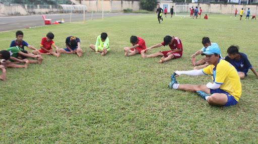 Tuyển chọn cầu thủ bóng đá U13 tỉnh Phú Yên