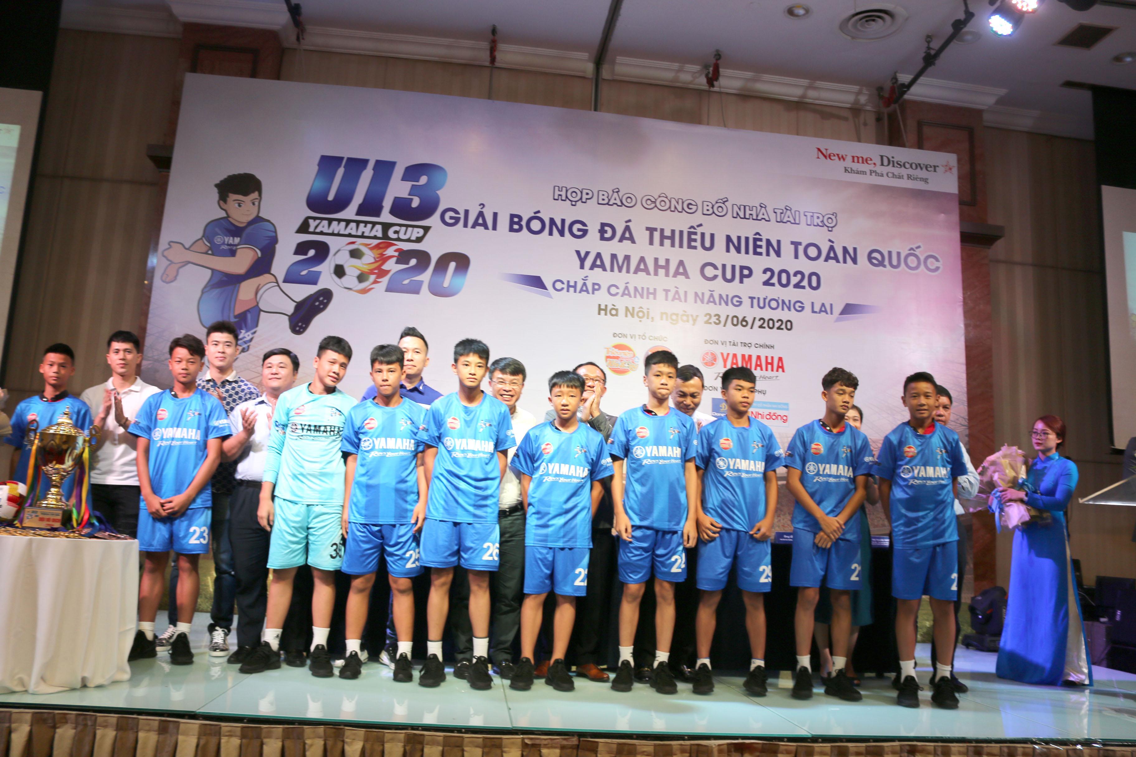 """Giải Bóng đá Thiếu niên Toàn quốc Yamaha Cup 2020 - """"Chắp cánh tài năng tương lai"""""""