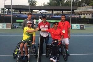 Ngày thi đấu thứ hai Vòng loại Giải quần vợt đồng đội khu vực châu Á năm 2020