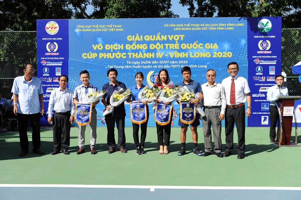 Khởi tranh Giải quần vợt Vô địch Đồng đội trẻ Quốc gia – Cúp Phước Thành IV – Vĩnh Long 2020