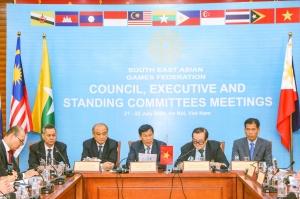 Tổng hợp nội dung 5 phiên họp Hội nghị trực tuyến  Liên đoàn Thể thao Đông Nam Á lần thứ Nhất năm 2020