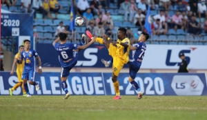 Vòng 8 LS V.League 1-2020: Quảng Nam ngắt mạch thất bại, TP.HCM đánh mất ngôi đầu vào tay Sài Gòn