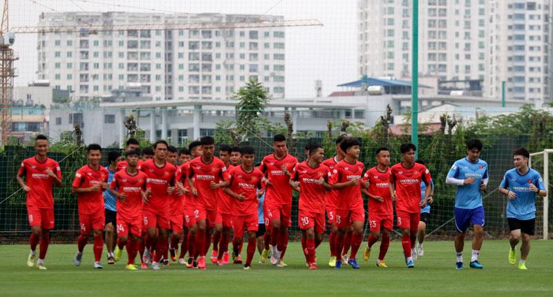 ĐT U22 Việt Nam lần đầu tiên tập trung trở lại trong năm 2020