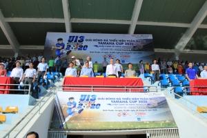 Khai mạc vòng bảng III giải Bóng đá Thiếu niên toàn quốc Yamaha Cup 2020 tại Ninh Thuận