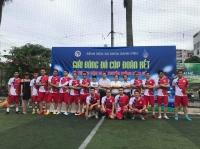 Tưng bừng giải Bóng đá Cúp Đoàn kết Bệnh viện Xanh Pôn 2020