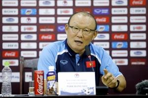 HLV Park Hang-seo đặt mục tiêu đi tiếp tại Vòng loại World Cup 2022