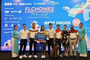 Nguyễn Thảo My vô địch giải golf FLCHomes Autumn Tournament 2020