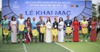 Khai mạc giải bóng đá nam Tân Dậu 1981 toàn quốc lần thứ hai