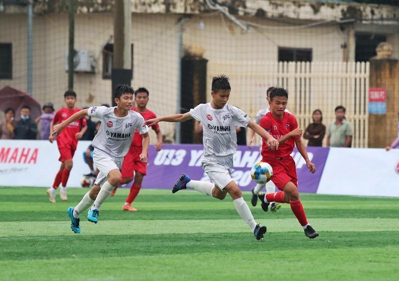 VCK Giải bóng đá Thiếu niên toàn quốc Yamaha Cup 2020: Hải Dương tiếp tục khẳng định sức mạnh