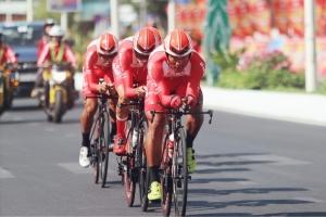 Giải xe đạp VTV – Cúp Tôn Hoa Sen 2020 điều chỉnh lộ trình vì mưa bão