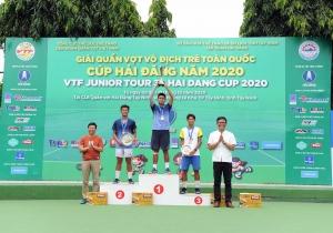 Kết thúc giải quần vợt Vô địch trẻ toàn quốc – Cúp Hải Đăng năm 2020