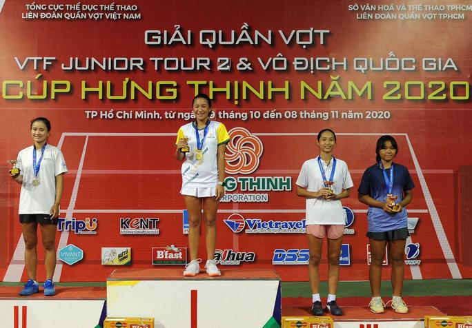 Kết thúc giải quần vợt Vô địch Thanh thiếu niên toàn quốc Cúp Hưng Thịnh năm 2020