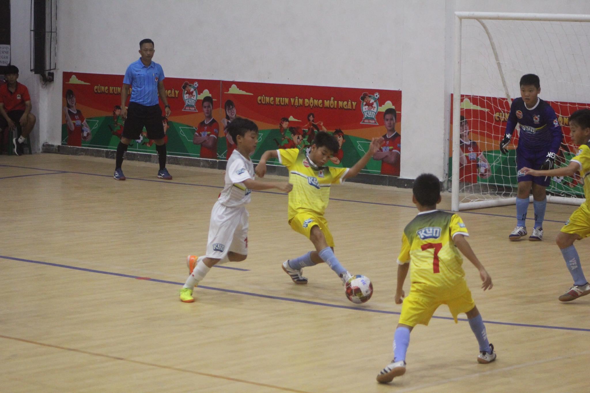 VCK Giải bóng đá Nhi đồng toàn quốc Cúp Kun Siêu Phàm 2020: Chủ nhà Phú Yên thua nhà ĐKVĐ Sông Lam Nghệ An