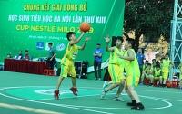 123 đội tham dự Giải Bóng rổ học sinh tiểu học Hà Nội 2020