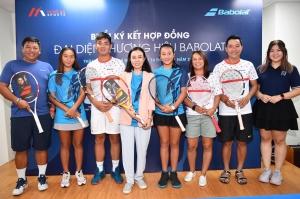 Babolat Việt Nam triển khai hợp tác dài hạn với HLV và VĐV quần vợt Việt Nam tại TP.HCM