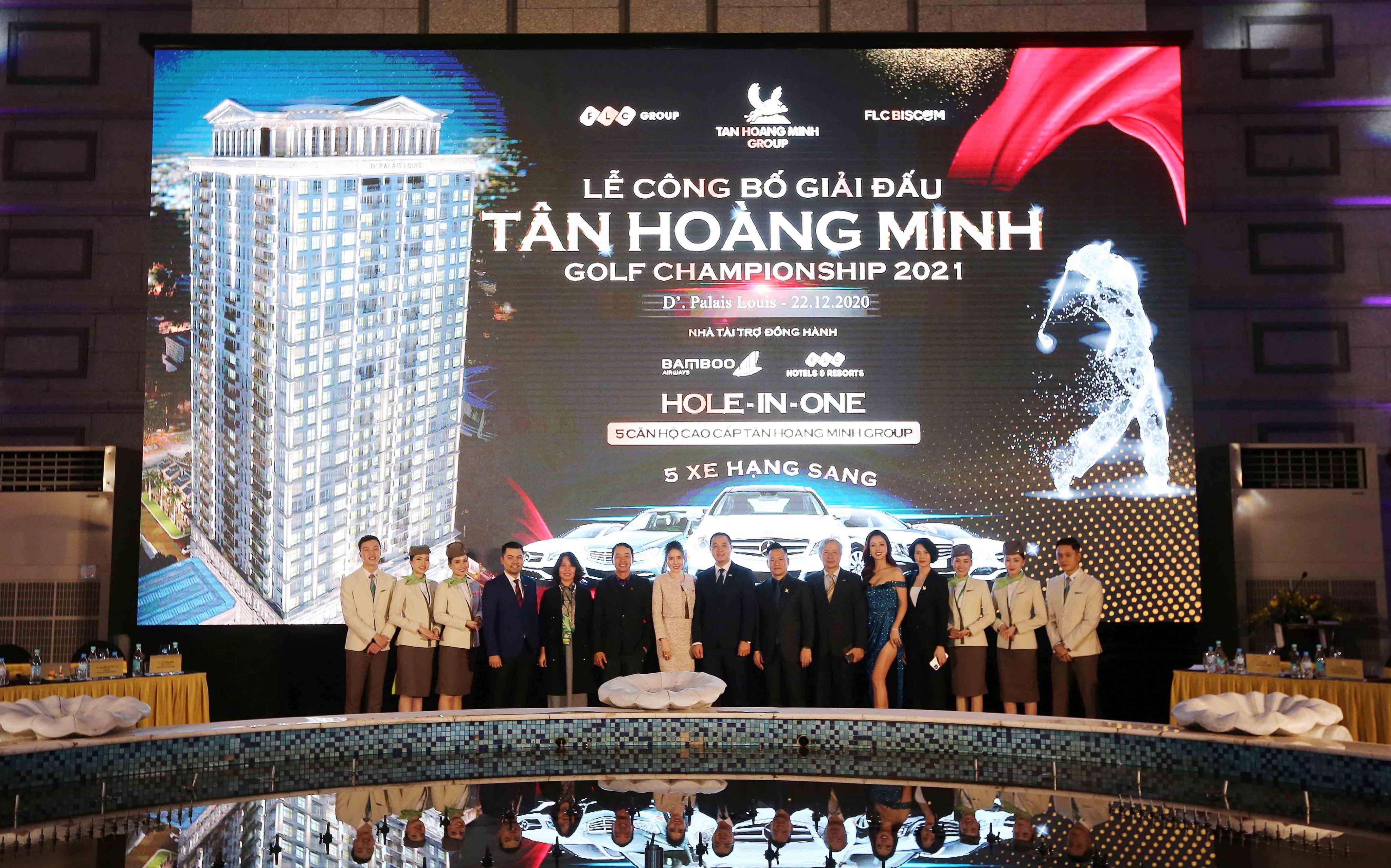 Tân Hoàng Minh Golf Championship 2021 mở đầu năm mới với giải thưởng cực lớn
