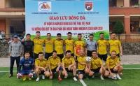 Kỷ niệm 20 năm thành lập, Đội bóng Báo Thể thao Việt Nam giao lưu tại Bảo Thắng và Sa Pa