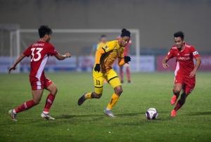 Vòng 1 LS V.League 1-2021: Bất ngờ nối tiếp bất ngờ
